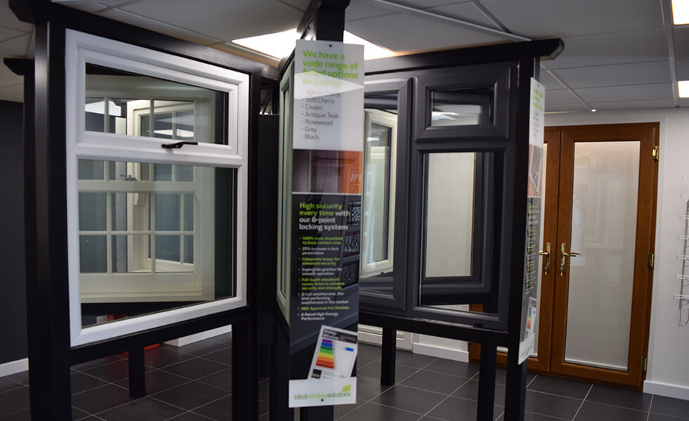 Chichester showroom products